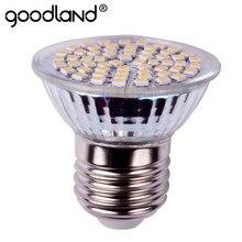 Goodland E27 lampe à led 3W E14 GU10 AC220V 240V led projecteur haute led lumineuse ampoule Spot pour salon led éclairage