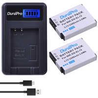 2 pièces EN-EL12 EN EL12 ENEL12 Caméra Batterie + USB Chargeur LCD pour NIKON Coolpix AW100 AW120 S9900 S9500 S9200 S8200 S6300 P330