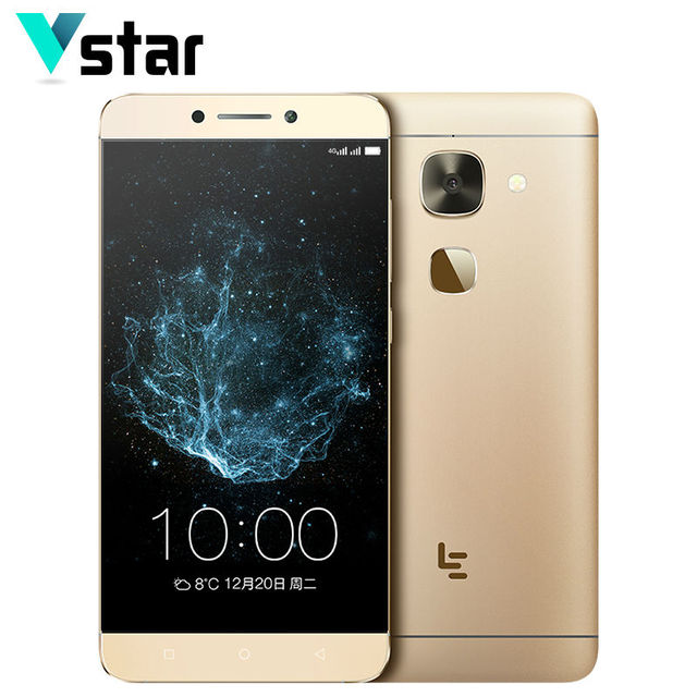 Letv LeEco Le S3 X626 4GB RAM 32GB ROM Helio X20 Deca Core Smartphone 4G LTE 5.5 inch Android Dual SIM Card Force Gold