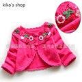 size 3M-24M Children's Thin Jackets  Knit cotton line  Wild newborn baby  Girls fashion shawl