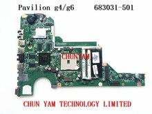 683031-501 für hp pavilion g4 g6 g4-2000 g6-2000 serie motherboard 683031-001 da0r53mb6e1 7670/2g mainboard 90 tage garantie