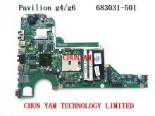 NEW 683031-501 FOR HP Pavilion G4 G6 G4-2000 G6-2000 series motherboard 683031-001 DA0R53MB6E1 7670/2G mainboard 90Days Warranty