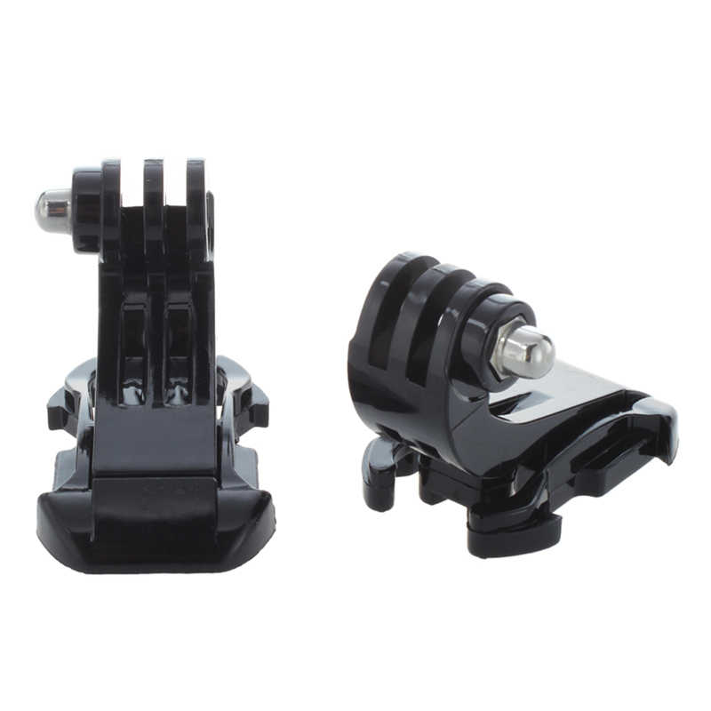 2x Black Vertical Surface J-Hook Buckle Mount For Gopro HD Hero 1 2 3(China)