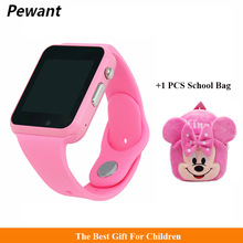Pewant Smart Baby Watch With Camera Bluetooth Watch Android Smart Watch Support SIM For Children Kids Gifts PK Q90 Q80 Q50 Q60