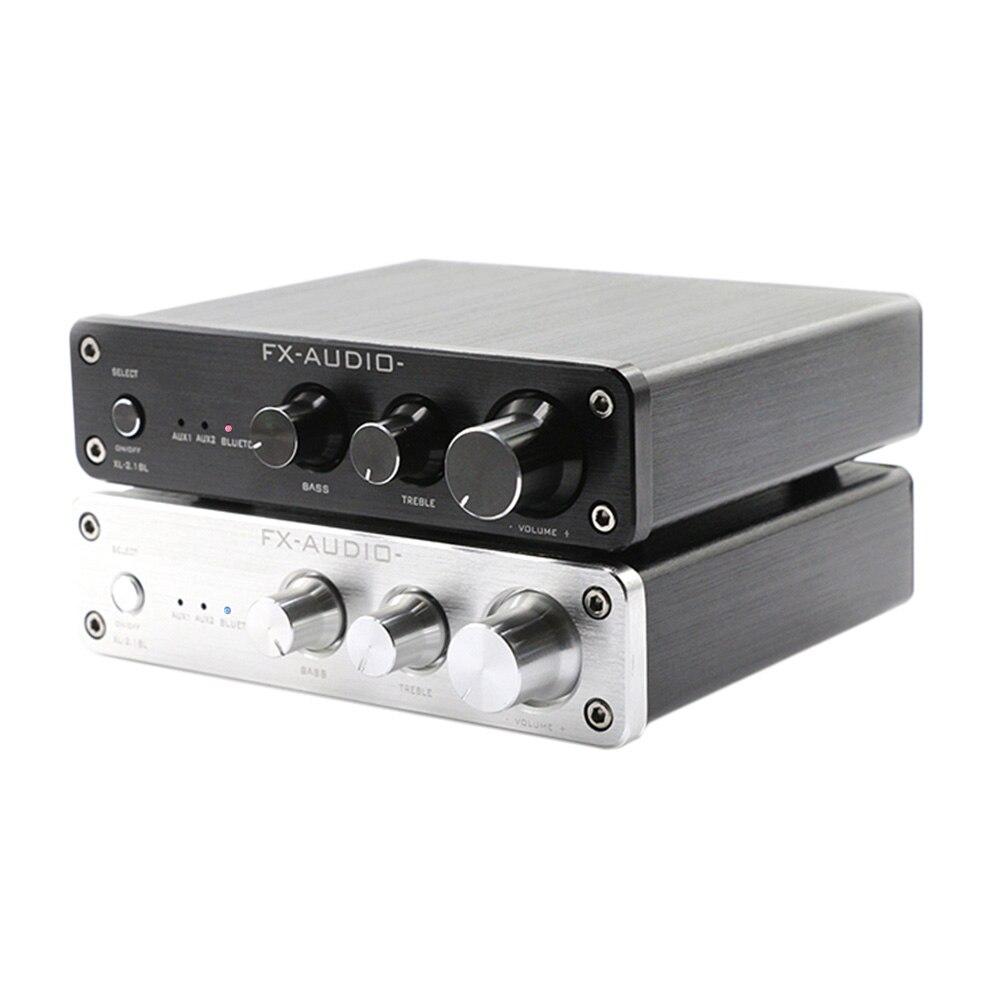 TPA3116d2 Bluetooth amplificateur de puissance numérique carte Audio 2.1 FX Audio XL-2.1BL Subwoofer haut-parleur amplificateur 50Wx2 + 100W Mini ampli