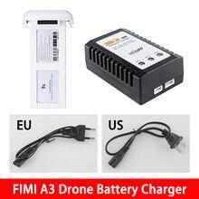 В наличии! Xiaomi FIMI A3 Drone LiPo Батарея Зарядное устройство & адаптера переменного тока запасные части для радиоуправляемого квадрокоптера Запчасти аксессуары 2 S/3 S LiPo HV мобильного телефона зарядки инструмент