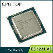 Intel-procesador Intel Xeon E3 1231 V3 3,4 GHz Quad-Core LGA 1150, CPU de escritorio E3-1231 V3