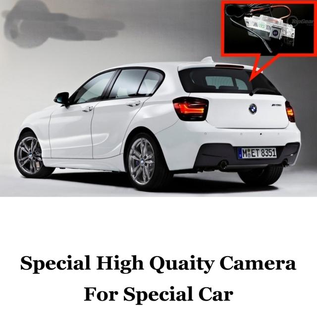 Cámara del coche Para BMW 1 F20 F21 M1 2011 ~ 2015 Posterior de la Alta Calidad Cámara Posterior Para Amigos a Utilizar | CCD Con RCA
