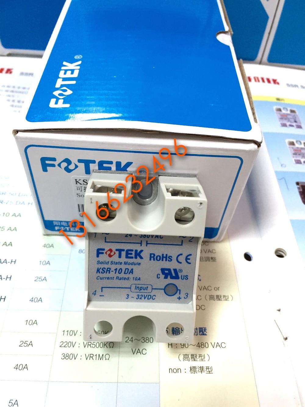 Genuine photoelectric switch SCR module KSR-10DA Yangming original new original taiwan s yangming fotek photoelectric switch a3g 4mxb