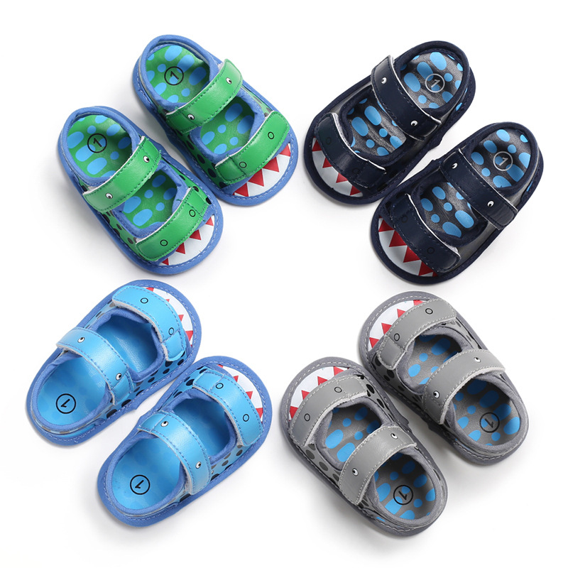 Summer 0-1 Years Old Male Baby  Soft Bottom Shoes Baby Shoes Toddler Shoes