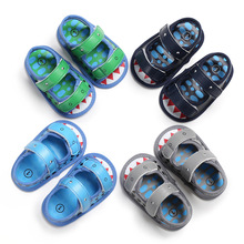 Summer 0-1 years old male baby soft bottom shoes ba