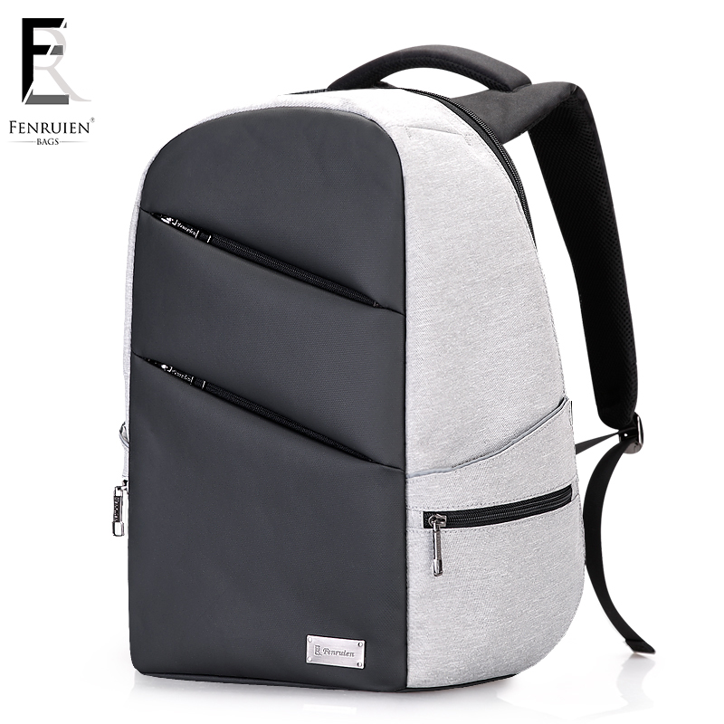 FRN Multifunction Men's Backpack USB Charging Business Laptop Backpack 15inch Male Large Capacity Fashion Travel Backpack Casual frn new high capacity casual backpack men usb charging business laptop backpack male mochila fashion travel backpack bag