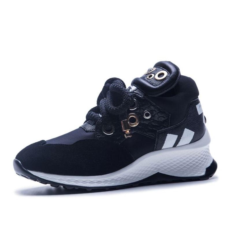 Tacón Vulcanizados Coolcept multiple Zapatos De Mujeres Calzado Negro Estilo Las 35 Genuino Cuero Casuales Diario 42 Zapatillas Nuevo Deporte Tamaño vCq6Wrvw