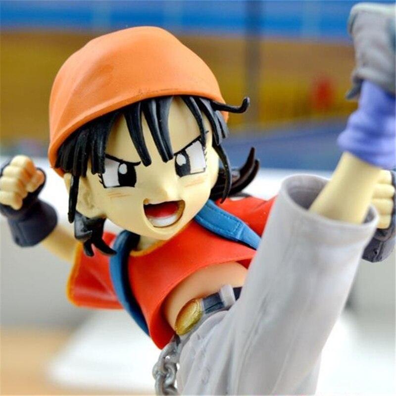 1pc/lot Anime Dragon Ball Figures Pan Granddaught of Goku Tenkaichi Budokai PVC Action Figure Dragon Ball GT Collectible 18cm