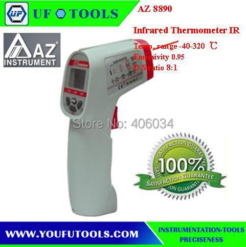 AZ8890 non-contact Automatic Infrared IR Thermometer Measuring range -40 ~ 360C AZ-8890 AZ 8890 Gun Type Infrared IR Thermometer  цены