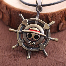 One Piece Anime Necklace Pendant