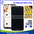 Оригинальный ЖК-Дисплей Запасные Части для Motorola Moto X Play XT1562 XT1563 Сенсорный ЖК-Экран Digitizer Ассамблеи + Рамка + инструменты