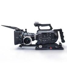 Tilta es-t15-a fs7 Rig опорная плита + плечевой накладкой + 4*4 Портативный Матовая коробка + ff-t03 Следуйте Фокус для sony fs7 камеры