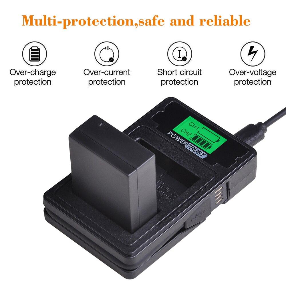alimentatore alimentazione Lumix DMC-G1, DMC-G10, DMC-G2, DMC-GF1, DMC-GH1 CELLONIC/® Caricabatteria DE-A49C compatibile con Panasonic DMW-BLB13E caricatore auto Caricabatterie batteria fotocamera - incl