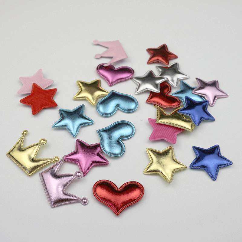 5pcs Glitter Felt Crown Craft Embellishments Scrapbooking Cardmaking Accessory