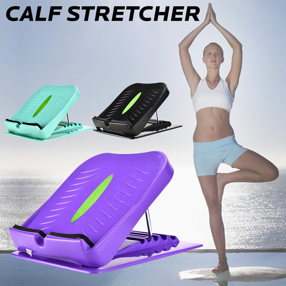 New Ankle Foot Calf Stretcher Slant Board Adjustable Balancing Stretching Board For Hamstring Achilles Leg Calves Muscle Exercis image