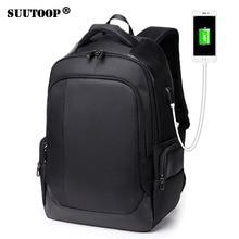 Waterproof USB 15.6inch laptop Men's bags Male Notebook Backpack Travel Sports for Boys Leisure School Bag Pack Mochila Bolsas