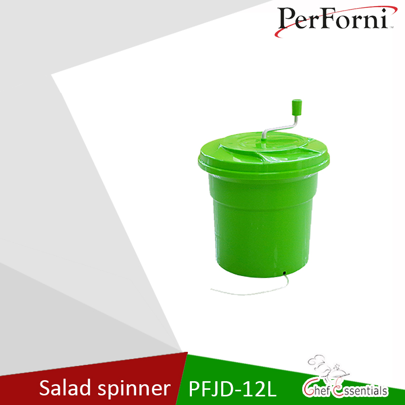Chef Essentials PFJD-12L Salad Spinner Food grade PP material safety standards efficient dehydration vegetable spinner 1kg food grade l threonine 99