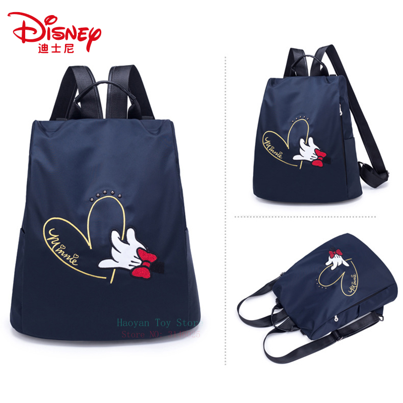 Disney Mummy Bag Mickey Minnie Waterproof Multi-function Heating Large Capacity Bag Fashion Maternal Package