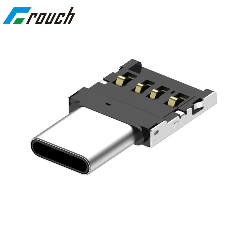 Adapter USB C To Micro OTG Cable Type C Male Adapter Converter For Macbook Samsung S8 Huawei P10 P9 One Plus 5t 5 OTG Adapter