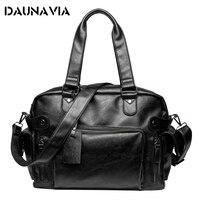 New Multi Function Bag Male Mandbag Mens Travel Bags Men Messenger Bags Waterproof PU Leather Shoulder