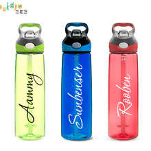 22 Font Personalized/Custom name vinyl decal sticker for bottle/netbook / wall c