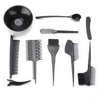 KIKI Beauty World Hair Dye Set Tinting Bowl And Tinting Brush Salon Sundries