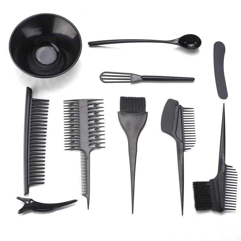 KIKI Beauty World Hair Dye Set Tinting Bowl And Tinting Brush Salon Sundries