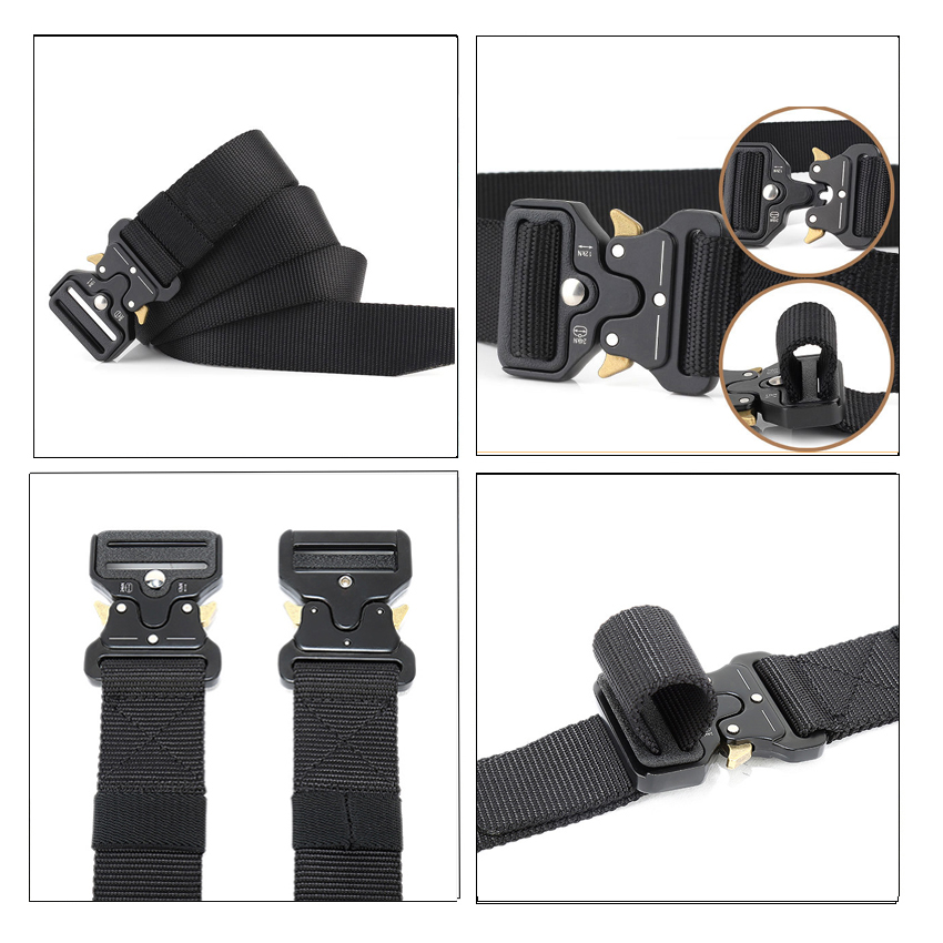 Nylon Tactical Men Belt For Jeans Pants Multi Function Outdoor Training Belts Canvas Designer Male Belt Casual Long Waist Belt in Men 39 s Belts from Apparel Accessories