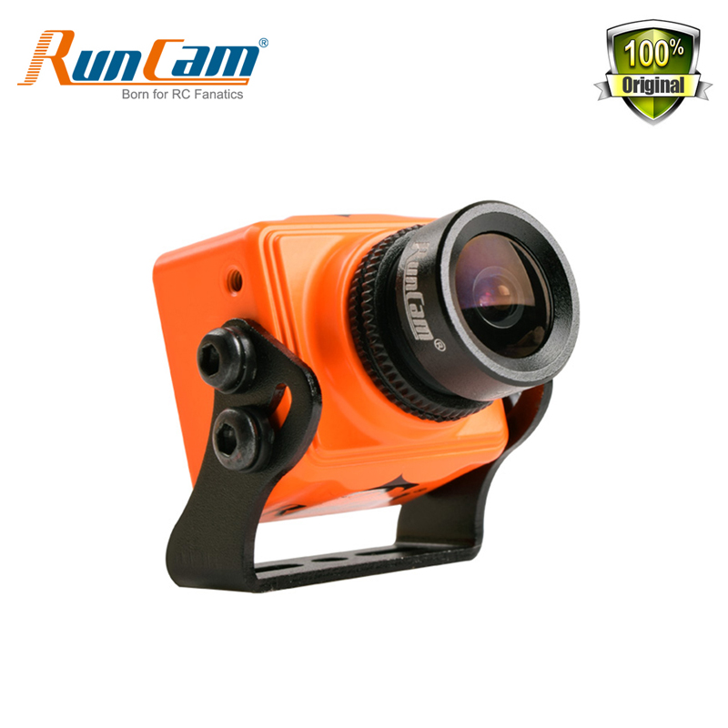 RunCam Swift Mini Camera 600TVL 5-36V FPV Camera 2.1 2.3mm Lens PAL D-WDR 1/3 SONY Super HAD II CCD For FPV Racing Drone Quad pal aomway 1200tvl mini camera 960p hd 2 8mm lens for 1 3 sony ccd fpv qva250 quadcopter