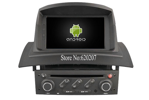 S160 Android 4 4 4 CAR DVD player FOR RENAULT Megane II 2002 2008 car audio