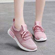 Women Shoes 2019 Women Sneakers Super Light Flyknit Vulcanized Shoes