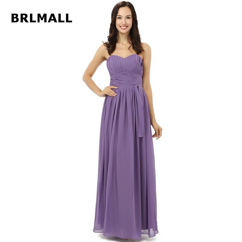 2019 Simple Bridesmaid Dresses Chiffon A Line Custom Made