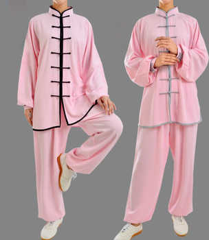 29colors Unisex taiji suits tai chi uniforms kung fu martial arts clothing black/pink/blue/red/rose/yellow - DISCOUNT ITEM  50% OFF All Category