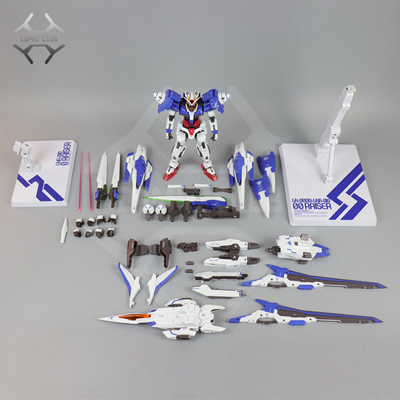 COMIC CLUB in   stock Metalgearmodels โลหะสร้าง MB Gundam OO raiser XN OOR XN Trans   Am ระบบสี action figure-ใน ฟิกเกอร์แอคชันและของเล่น จาก ของเล่นและงานอดิเรก บน   3