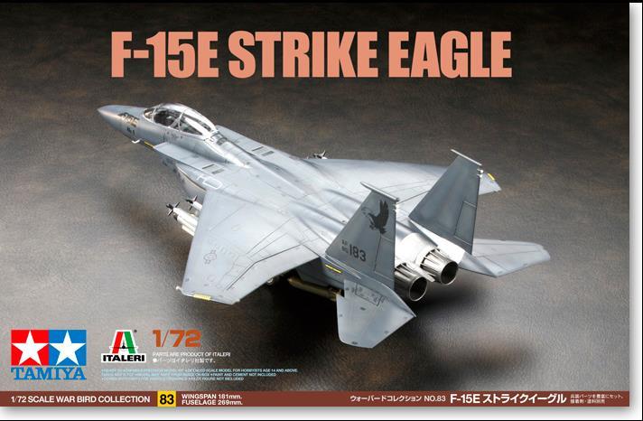 Assembly DIY 60783 1/72 F-15E Eagle fighter America Aircraft Model u s a f 14a tomcat aircraft 1 72 assembly model toys