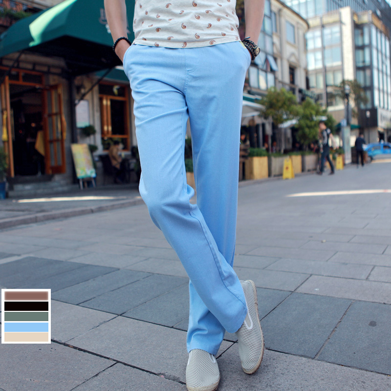 Online Buy Wholesale men's linen pants from China men's ...