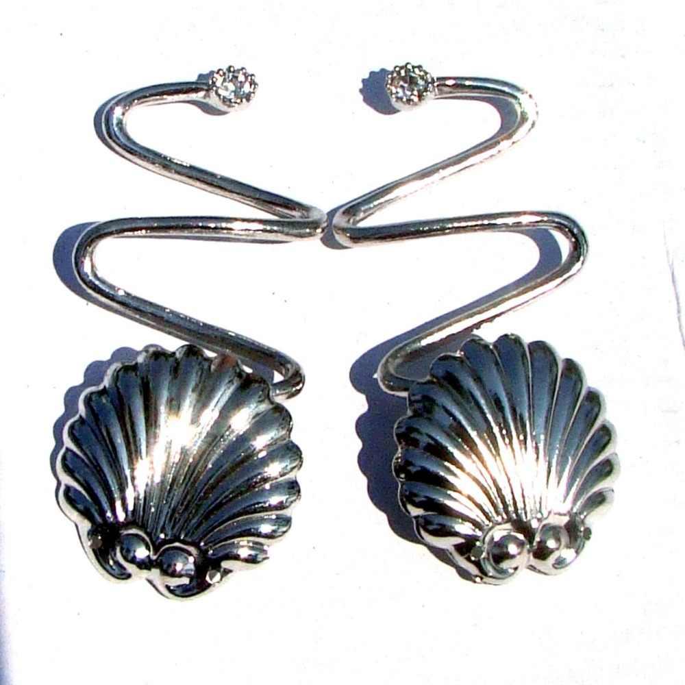 Sommer strand Flip-Flops hausschuhe schuhe Stahl Meer Scallop Shell charme dekorative ornament breite twisted schmuck taste