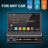 bosion Quad Core 7 1 Din Android 6.0 Car Radio Multimedia Player 1024*600 Universal GPS Navigation autoradio Stereo Audio