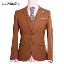 LA Maxpa (jacket+pants+vest) New fashion brand male singer men suit spring autumn casual slim fit prom groom party wedding suit