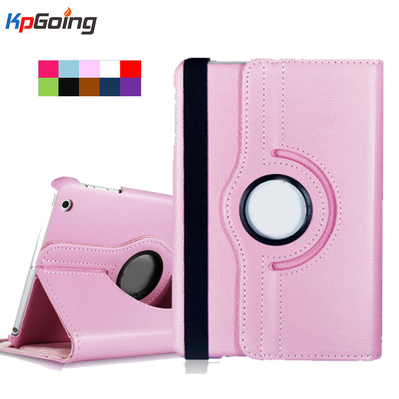 For Case Apple iPad 2 iPad 3 iPad 4 PU Leather Smart Stand Flip Case Cover 360 Rotating Litchi Leather for iPad 4 3 2 Fundas for apple ipad air 2 pu leather case luxury silk pattern stand smart cover