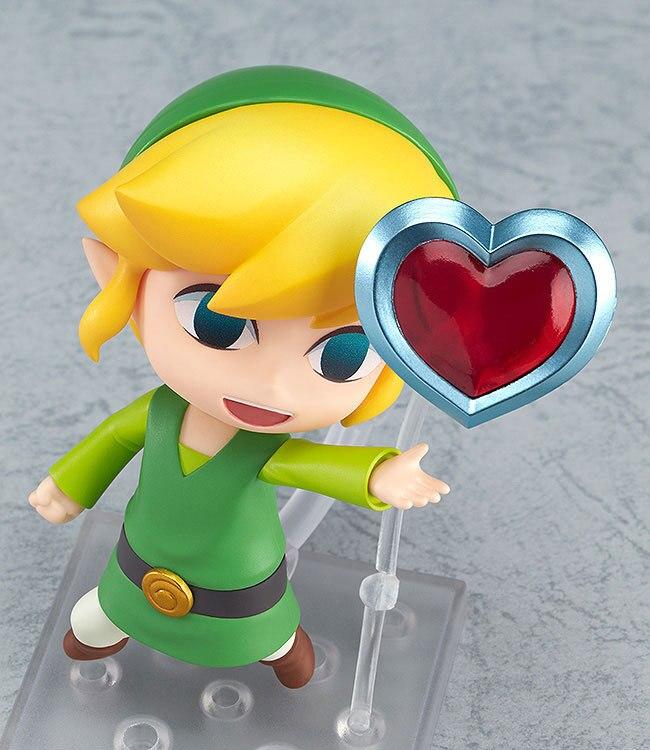 The Legend of Zelda Link Game Nendoroid Mini Action Figure