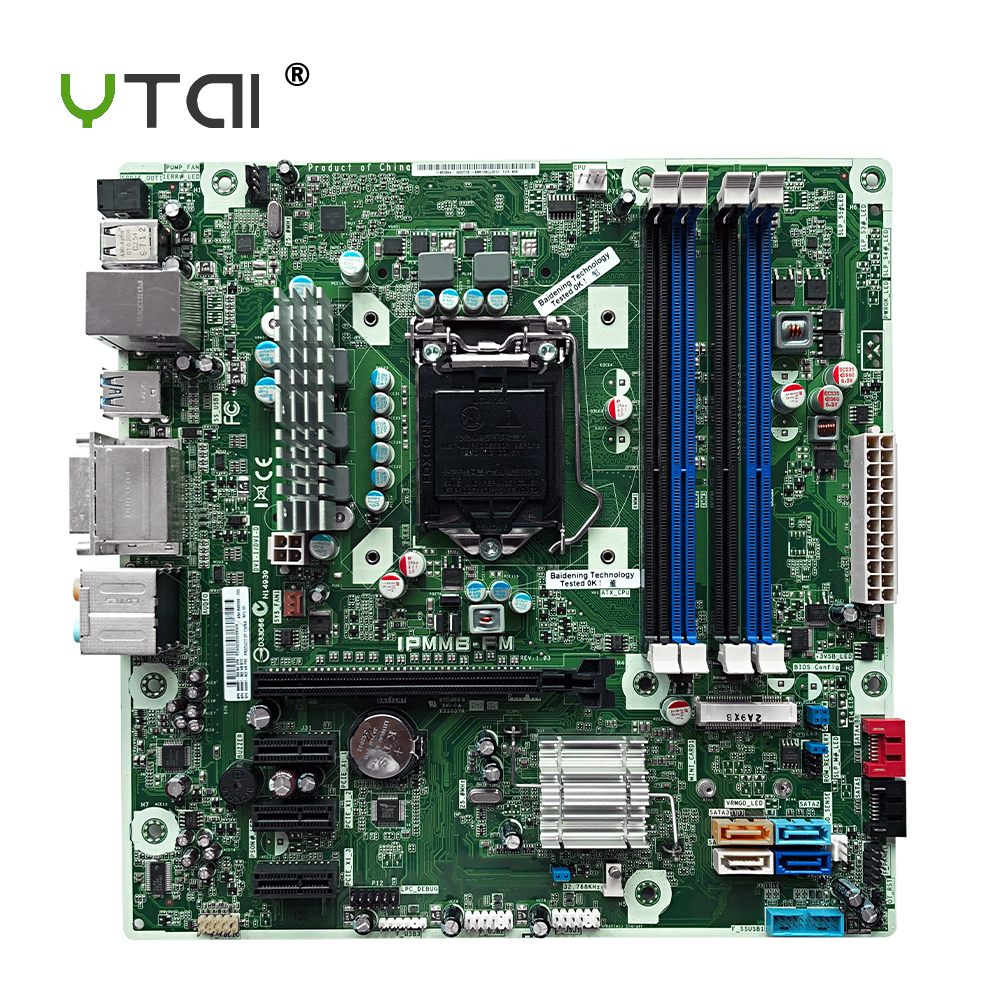 YTAI for HP H9-1490JP IPMMB-FM desktop motherboard LGA1155 Z75 DDR3 mainboard 696399-002 696887-002 696887-502 696887-602YTAI for HP H9-1490JP IPMMB-FM desktop motherboard LGA1155 Z75 DDR3 mainboard 696399-002 696887-002 696887-502 696887-602