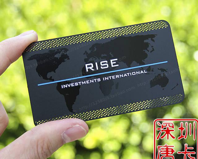 Us 220 91 15 Off Benutzerdefinierte Valisere Metallic Black Visitenkarten Druck Deluxe Metall Visitenkarte Visitenkarte Doppelseitige No 3059no