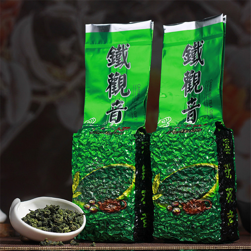 Green tea 250g organic strong fragrant anxi tie guan yin tikuanyin chinese oolong green tea health